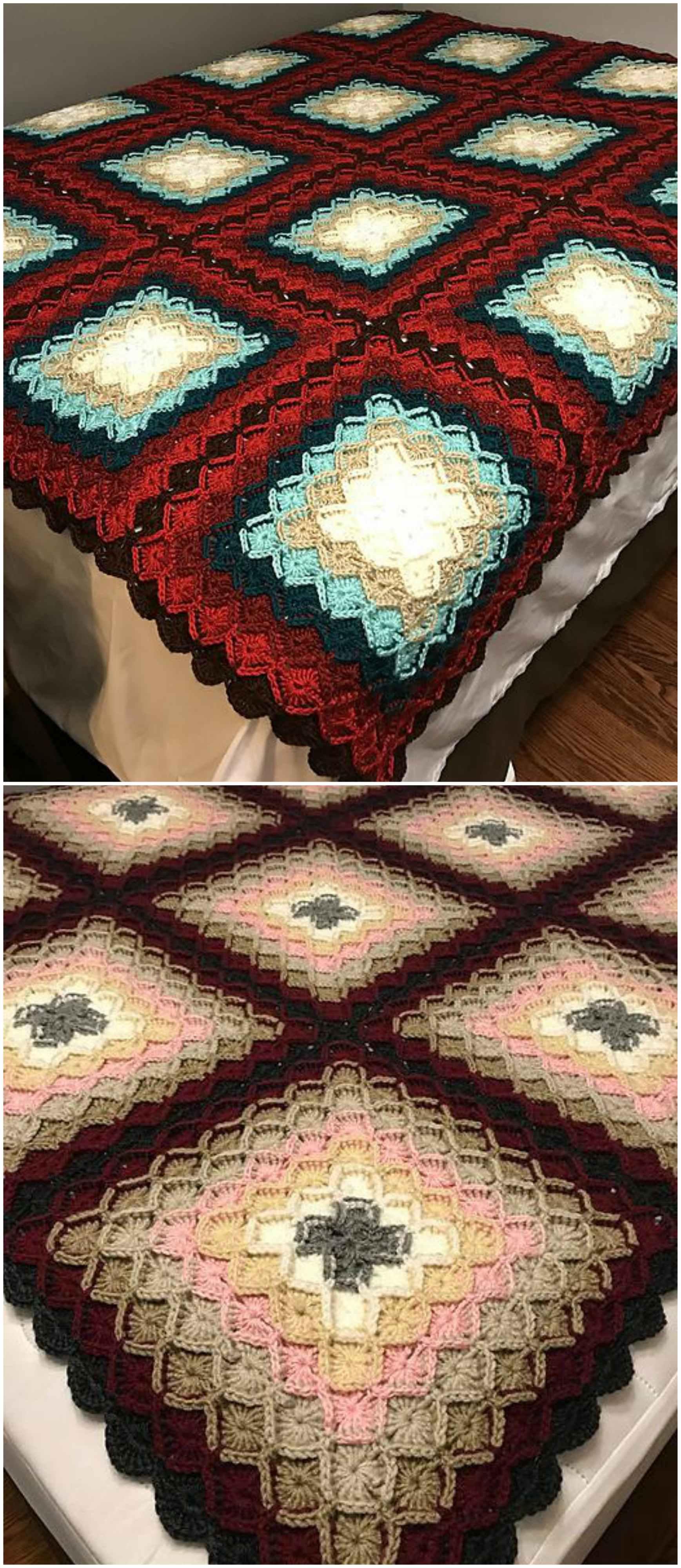 Bavarian Crocheted Afghan Craft Ideas