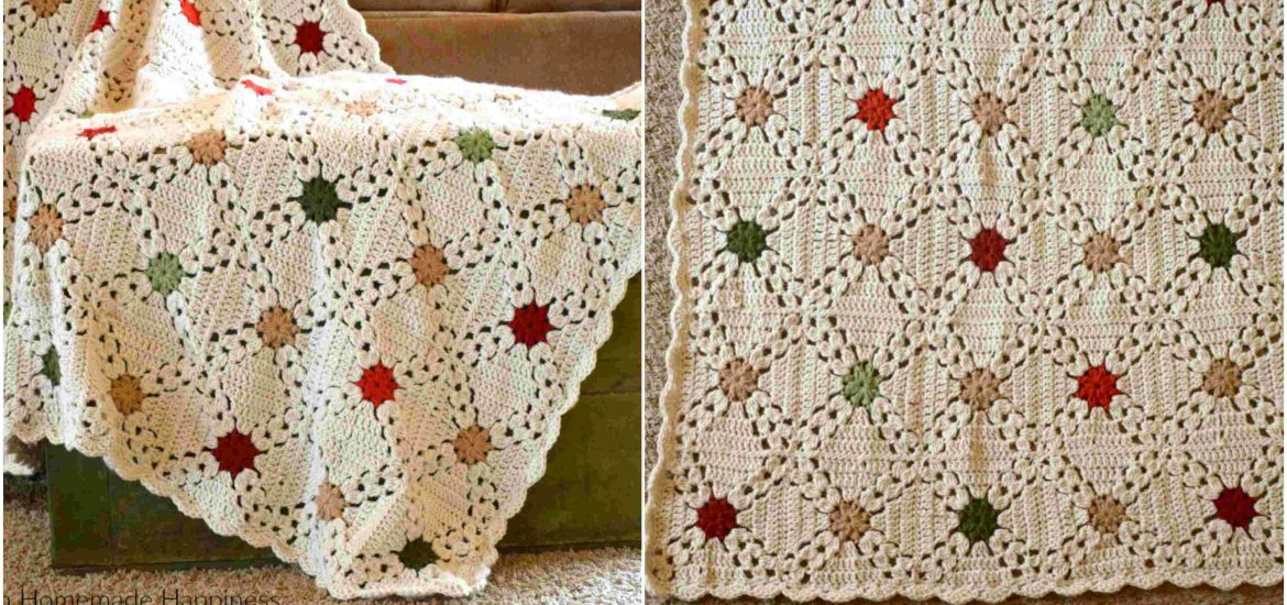 Country Christmas Afghan Crochet Pattern Craft Ideas