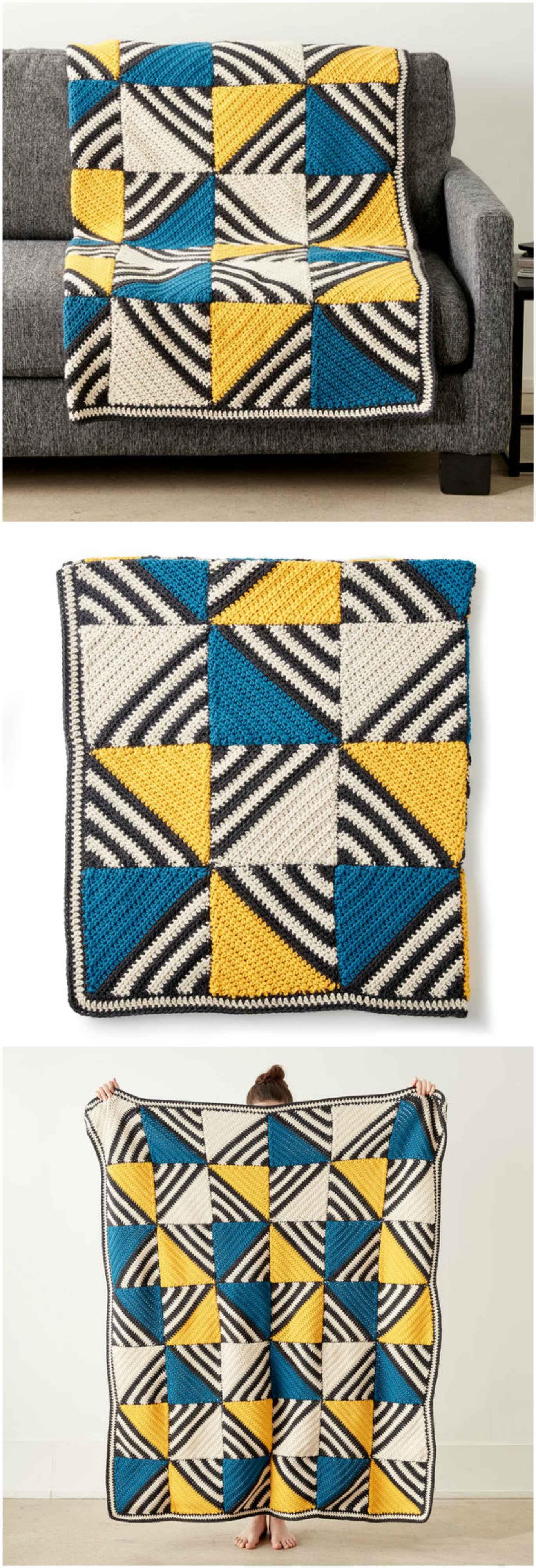 Crochet Tilt A Whirl Afghan – Craft Ideas