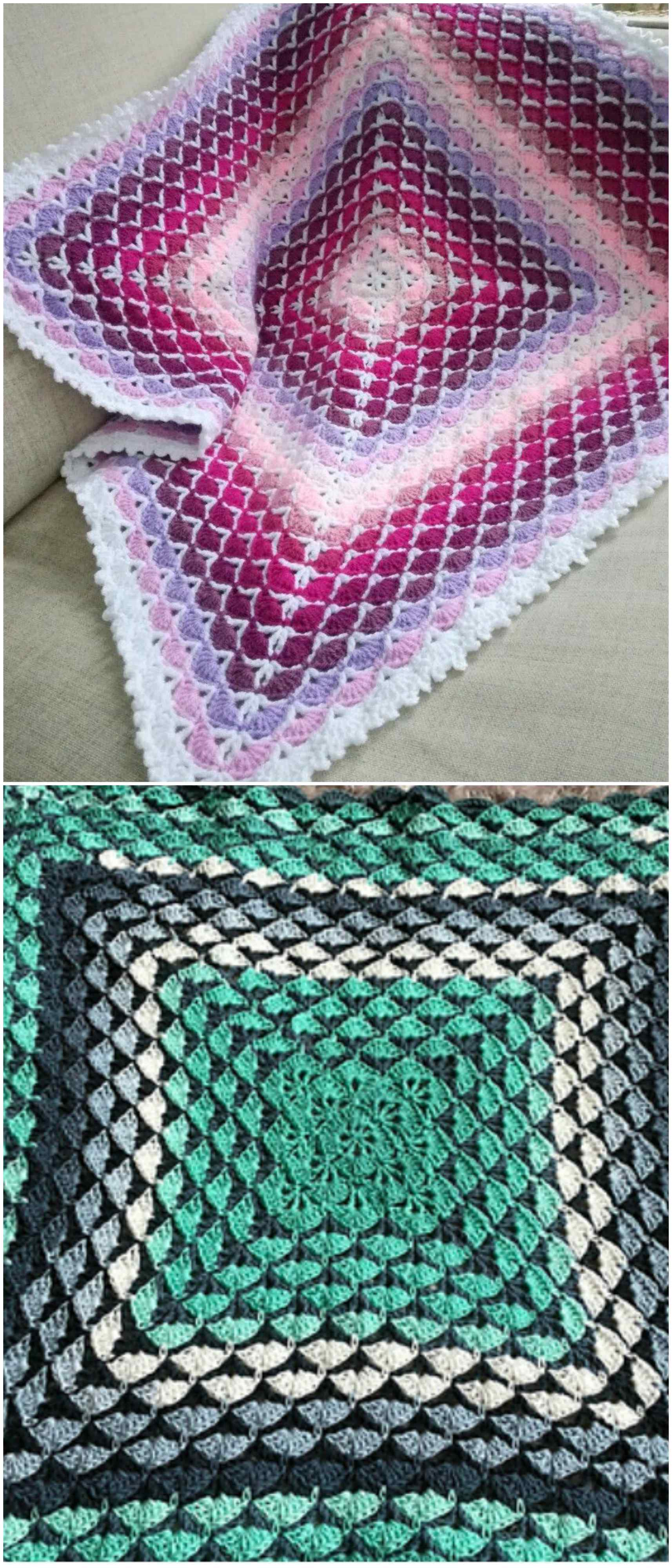 Beautiful Shells Blanket Craft Ideas