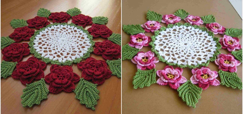 The Rose Doily Craft Ideas